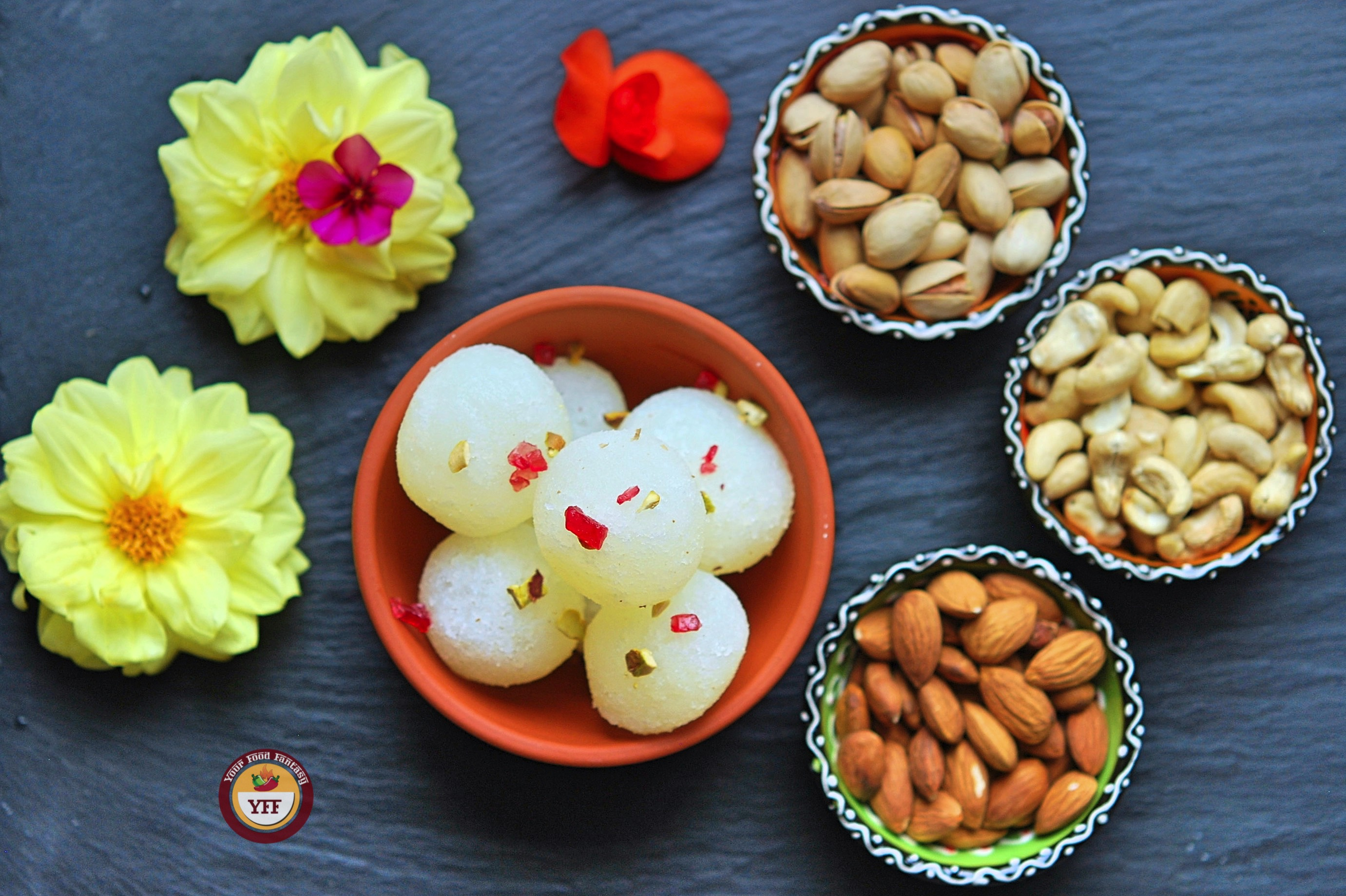 Traditional Indian Sweet - Rasgulla Recipe | Your Food Fantasy