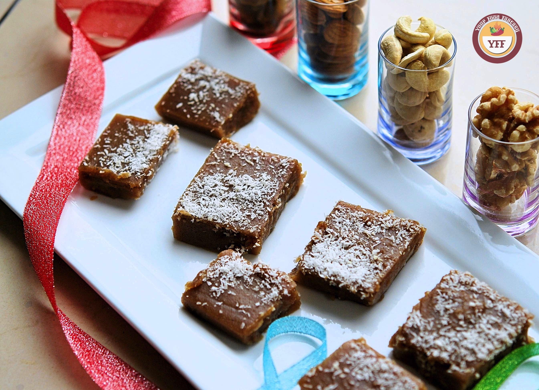 Water chestnut Fudge Recipe   Singhara Recipes   Your Food Fantasy.com