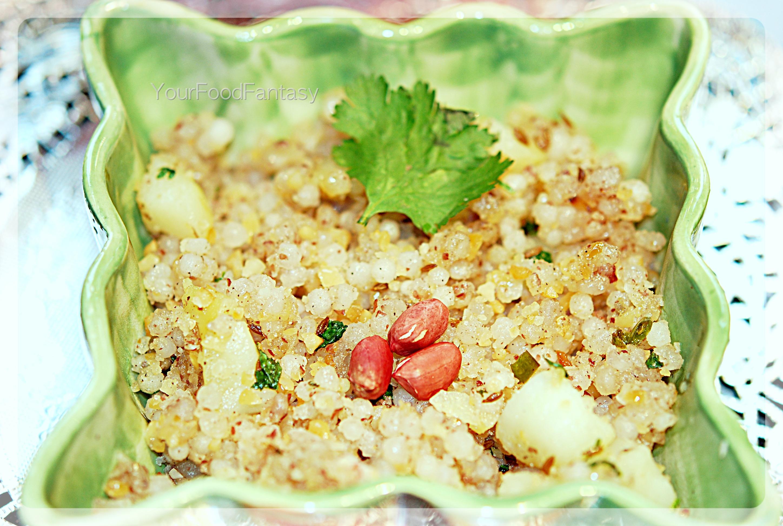 Sabudana-khichdi-at-yourfoodfantasy.com by meenu gupta