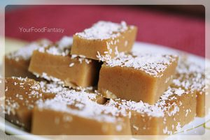 water chestnut fudge at your food fantasy