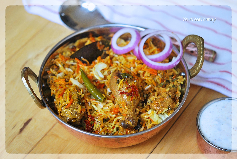Chicken Dum Biryani Recipe   YourFoodFantasy.com by Meenu Gupta