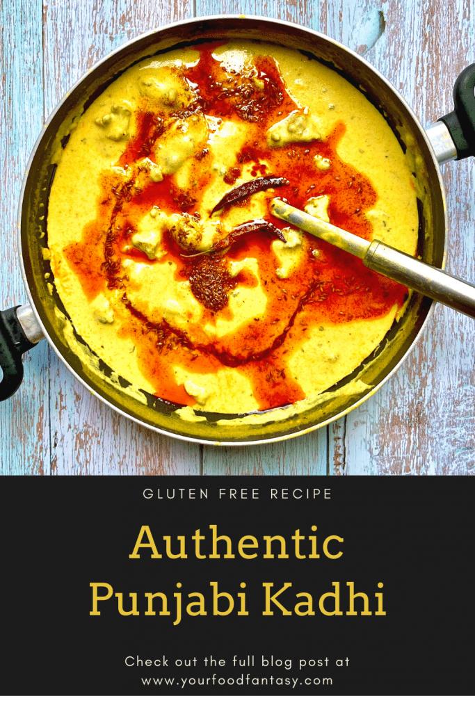 Punjabi Kadhi Recipe | Your Food Fantasy