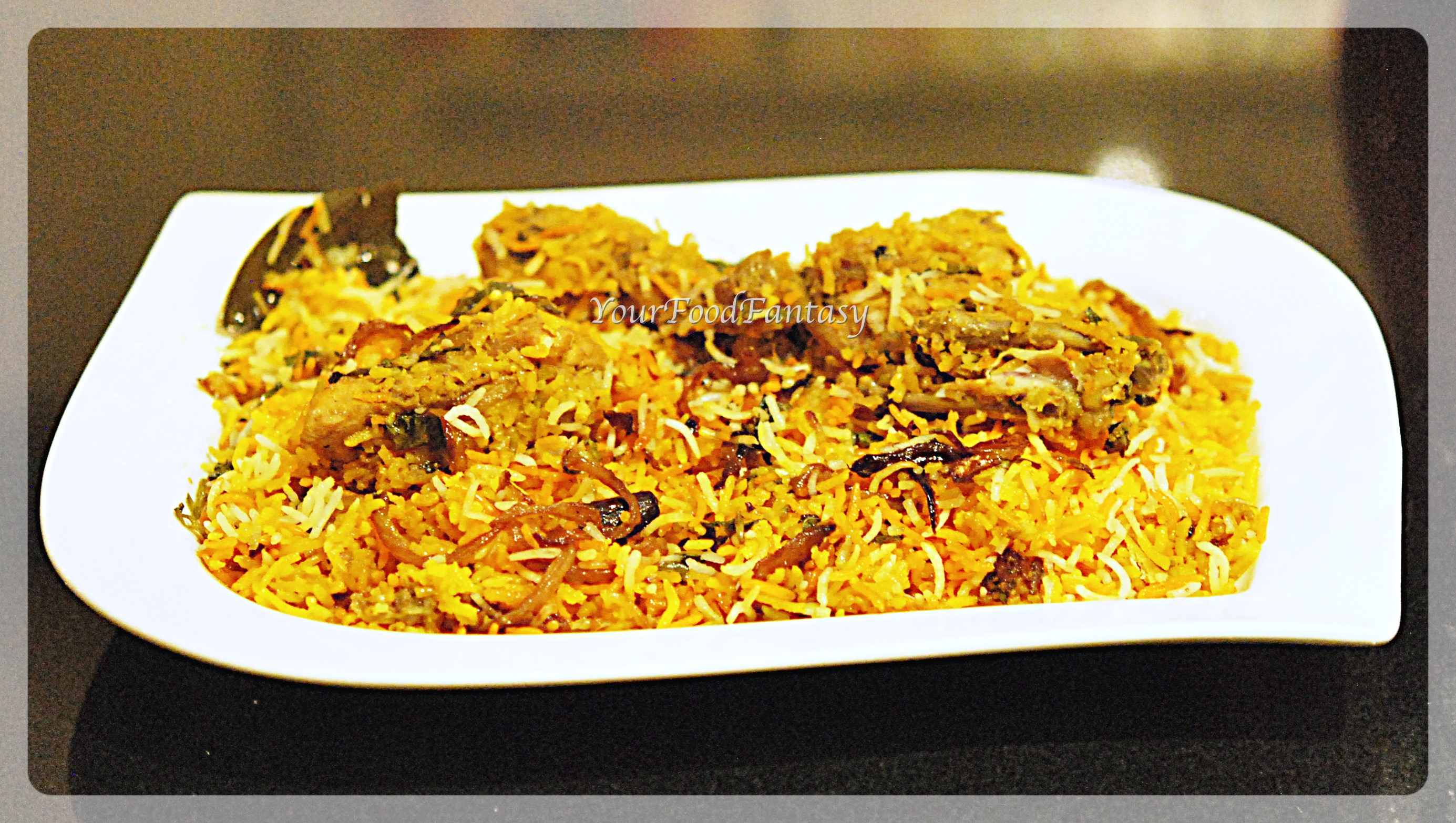 Chicken biryani recipe at by meenu for Chicken biryani at home