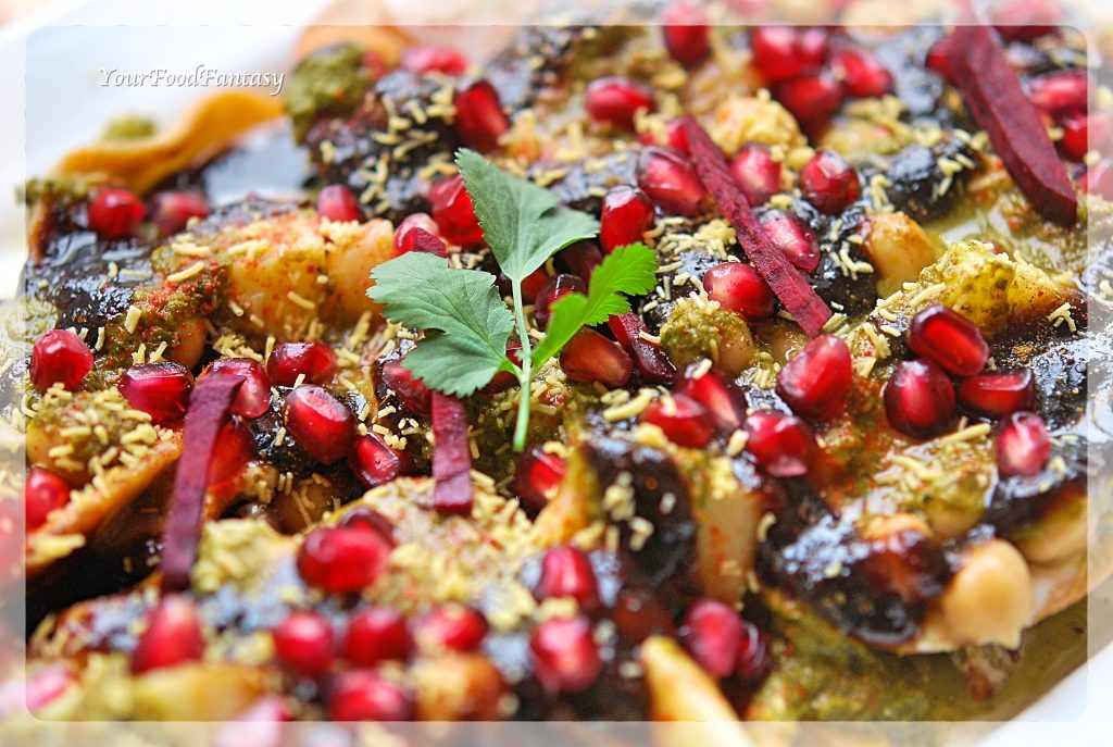 Delhi Style Papdi Chaat | Your Food Fantasy