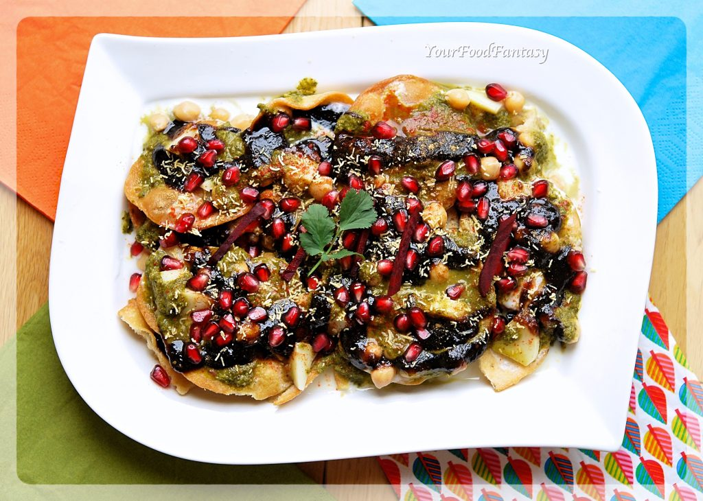 Papdi Chaat Recipe   Your Food Fantasy