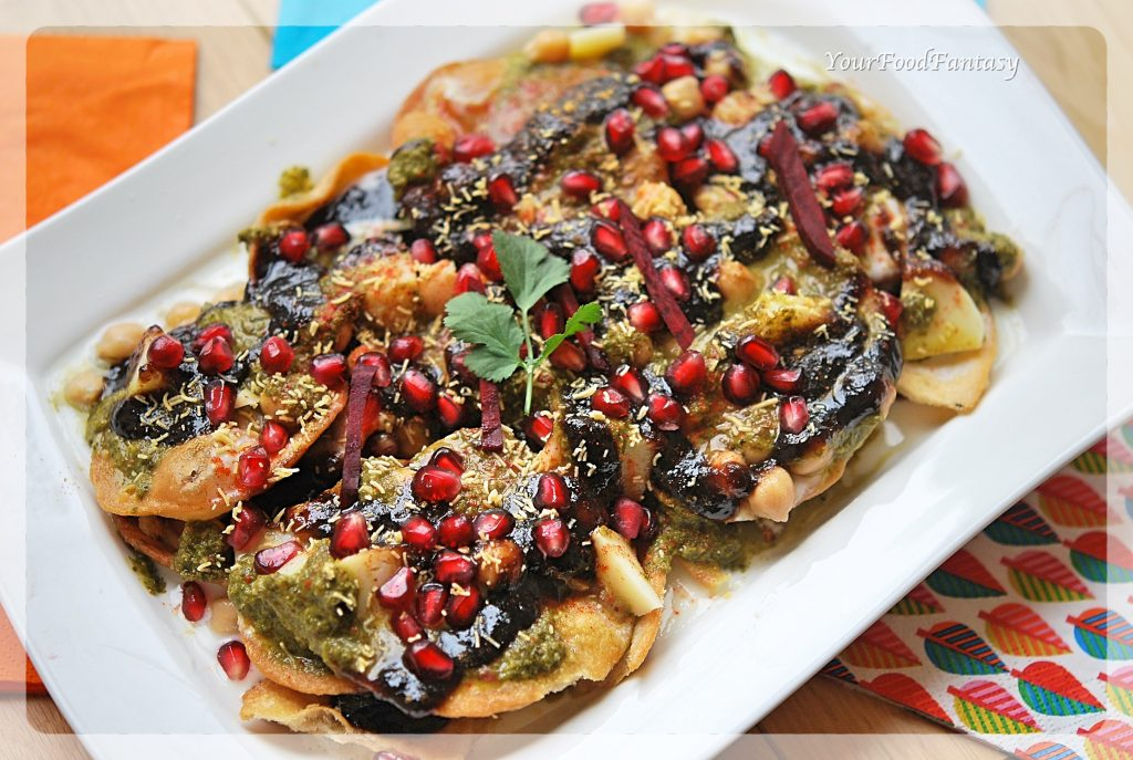 Papdi Chaat Recipe | Your Food Fantasy