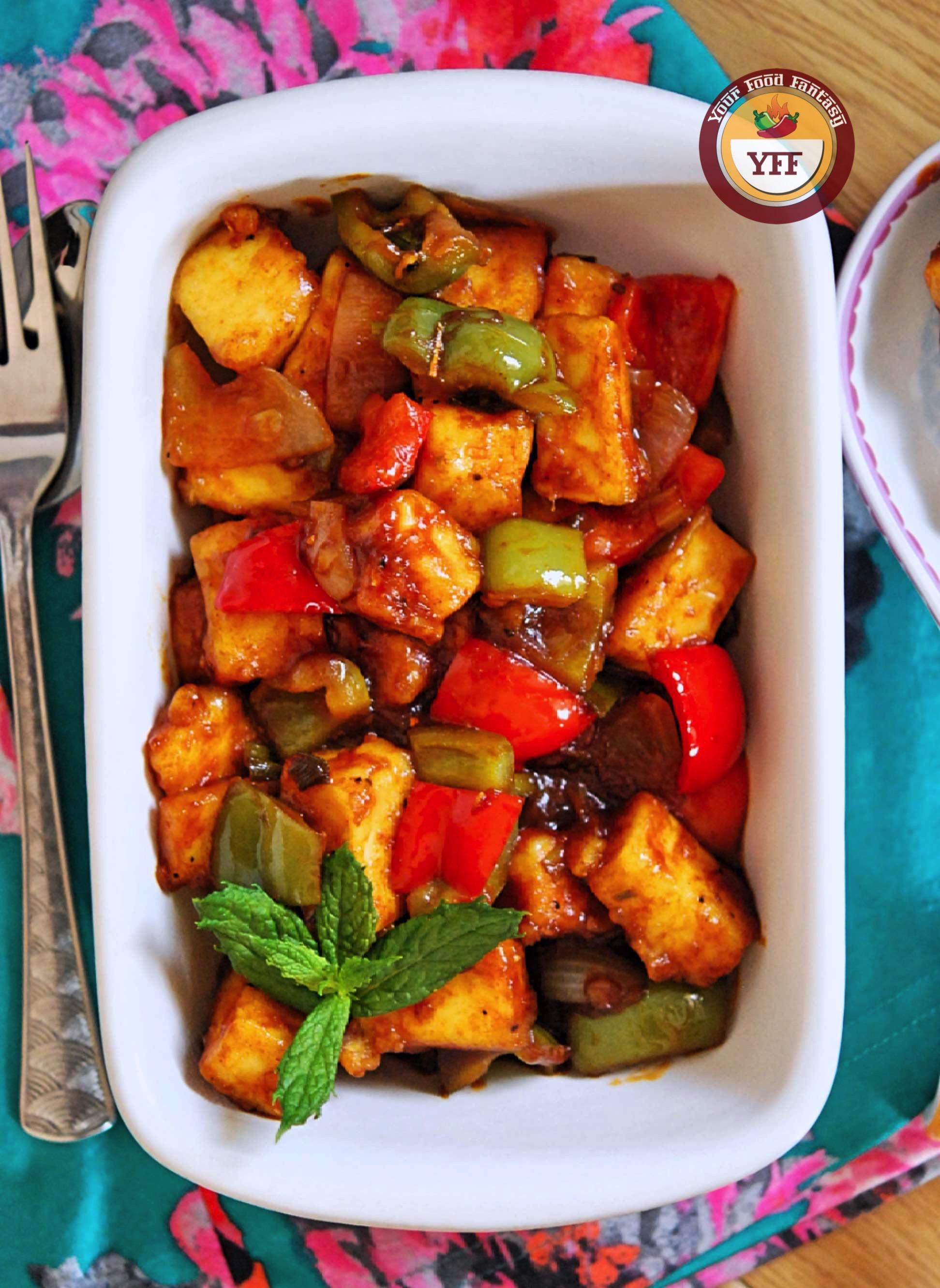 Chilli Paneer Recipe - Your Food Fantasy
