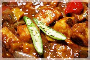 Chilli paneer recipe at yourfoodfantasy.com | meenu gupta
