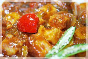 Chilli-paneer recipe | yourfoodfantasy.com | meenu gu