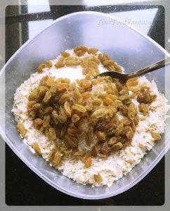 Dry fruit mixture for dry fruit gujiya