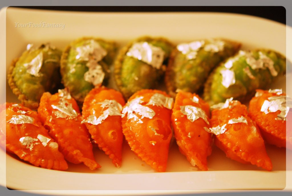 Dry fruit gujiya recipe