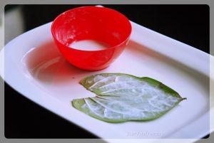 Applying chuna on paan | paan making | yourfoodfantasy
