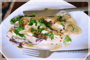 bruschetta con funghi, find details at yourfoodfantasy.com
