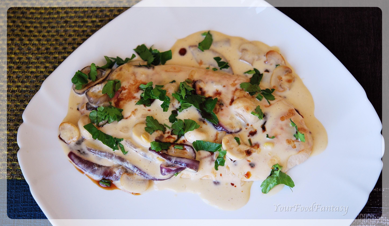 bruschetta con funghi, Italian food | yourfoodfantasy.com by meenu gupta