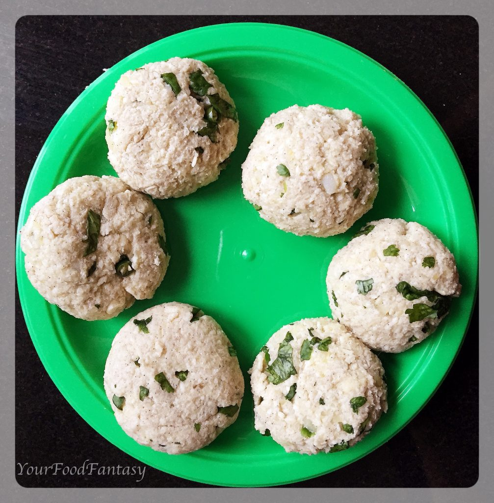 cutlet ready to be fried for paneer potato cutlet | find detailed recipe at yourfoodfantasy.com by meenu gupta