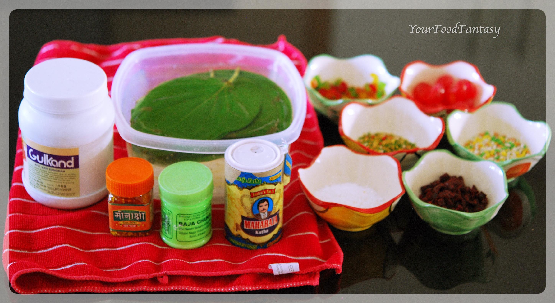paan recipe at yourfoodfantasy by meenu gupta