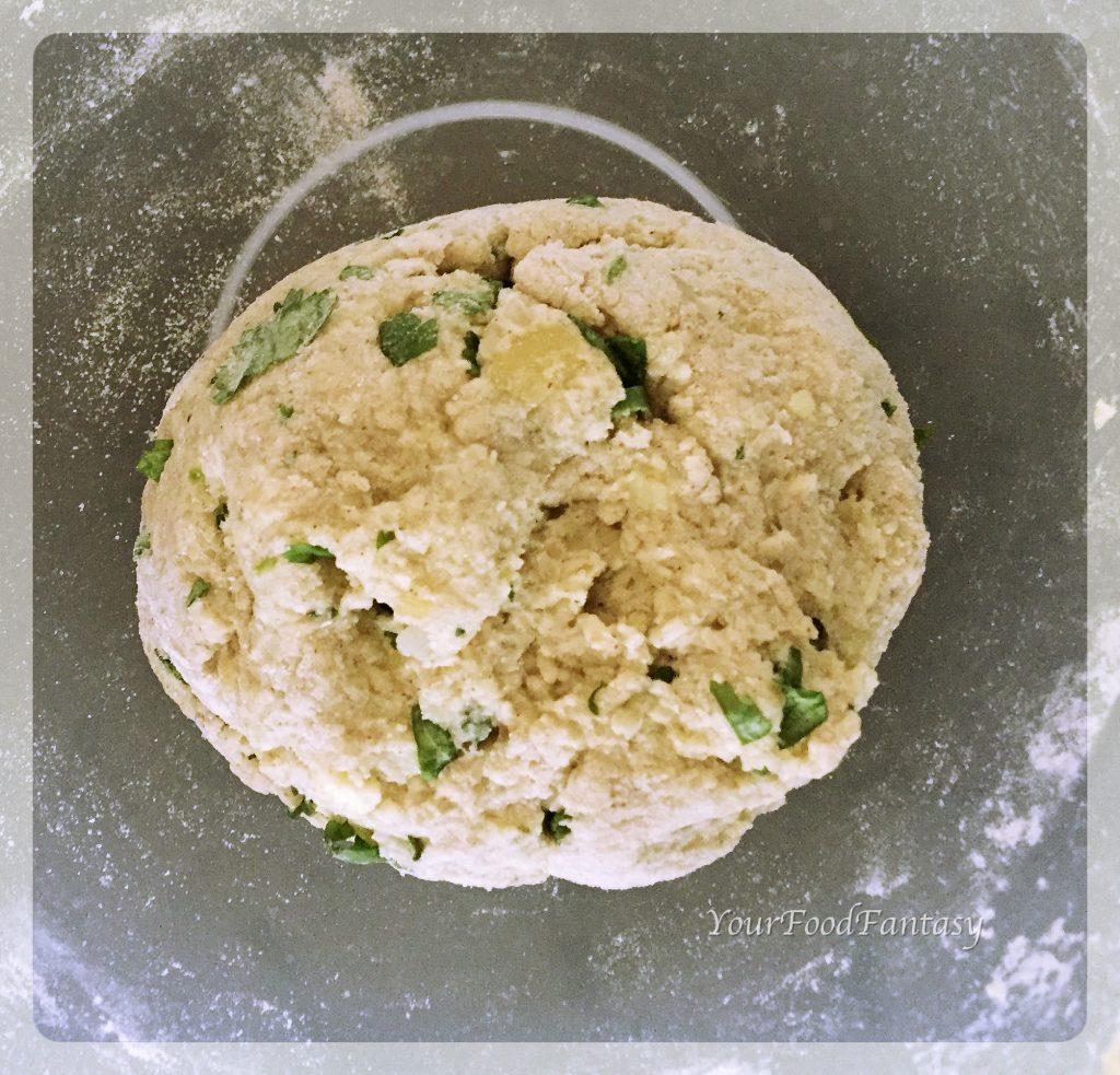 paneer potato cutlet mix ready | yourfoodfantasy