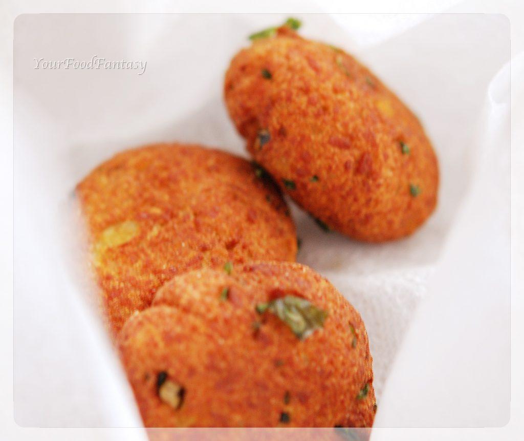 Paneer potato cutlet | Paneer Aloo Tikki