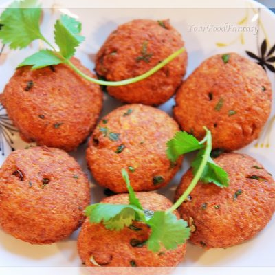 paneer potato cutlet recipe| yourfoodfantasy.com