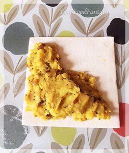 Making of potato puffed patties   yourfoodfantasy.com