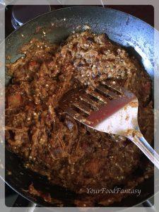Baingan bharta recipe | YourFoodFantasy.com by Meenu Gupta