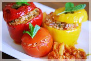 Gemista Recipe - How to make Yemista | Your Food Fantasy