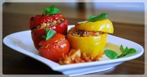 Gemista recipe   Yamista recipe   Greek food recipe