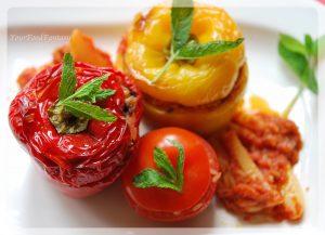Gemista recipe - Greek food recipe   Your Food Fantasy