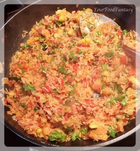 Rice filling for gemista | yourfoodfantasy.com
