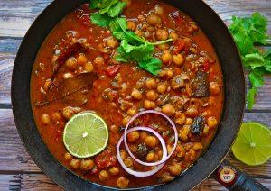 Chickpea Curry Recipe - Chole Recipe   Your Food Fantasy