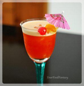 Fruit Punch   Mocktail   YourFoodFantasy