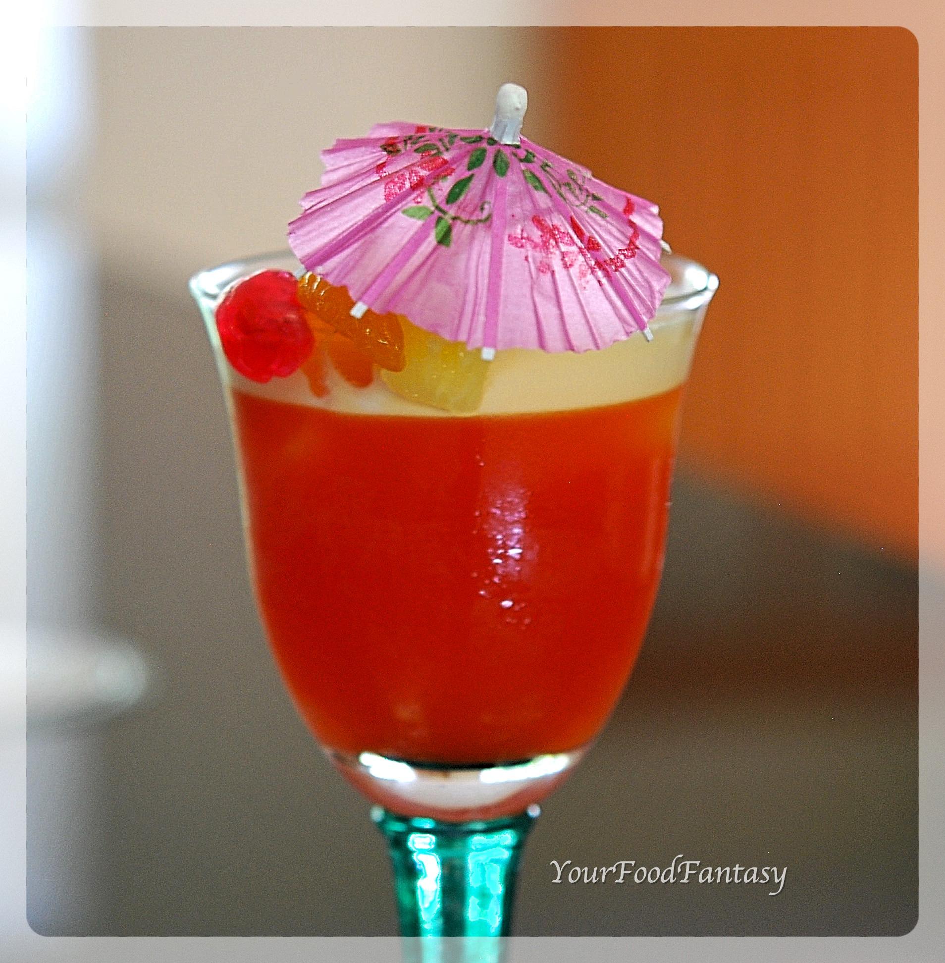 Fruit Punch Recipe | Mocktail | YourFoodFantasy