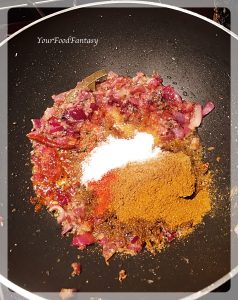 Frying onion and spices   YourFoodFantasy
