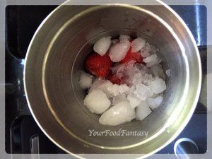 Making of Strawberry Margarita | Your Food Fantasy