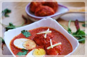 Egg Curry Recipe at YourFoodFantasy.com