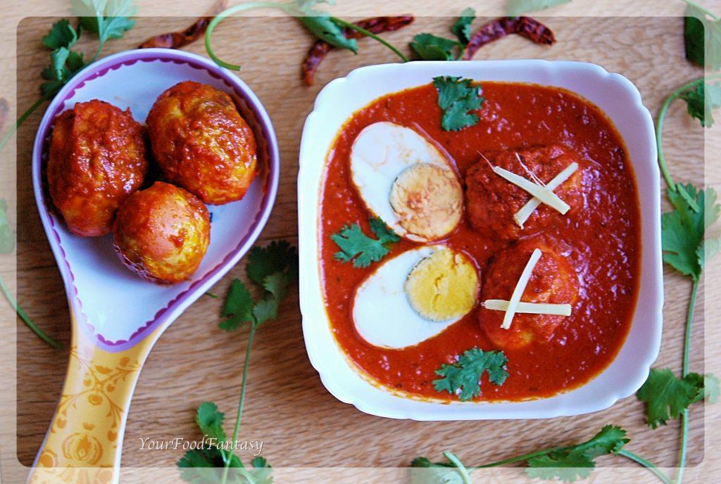 Punjabi style or dhaba style Egg Curry | Egg Curry Recipe