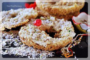 Ghevar - an Indian sweet   YourFoodFantasy.com