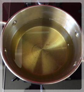 Oil for Frying Ghevar   Ghevar Recipe   YourFoodFantasy.com