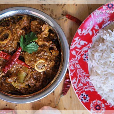Achari Mutton Curry | Achari Gosht | Your Food Fantasy