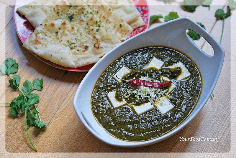 Palak Paneer - Paneer Recipe | YourFoodFantasy.com
