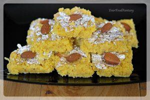 How to Make Fresh Nariyal Barfi | Your Food Fantasy