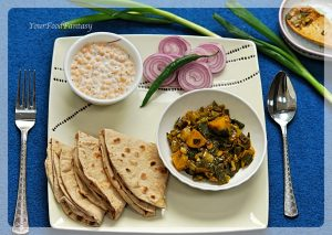 Spring Onion Ke Sabji | YourFoodFantasy.com by Meenu Gupta