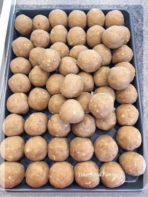 Atta Ladoo Recipe | Wheat Flour Ladoo
