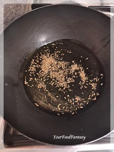 Cumin Seeds | Shahi Paneer Recipe
