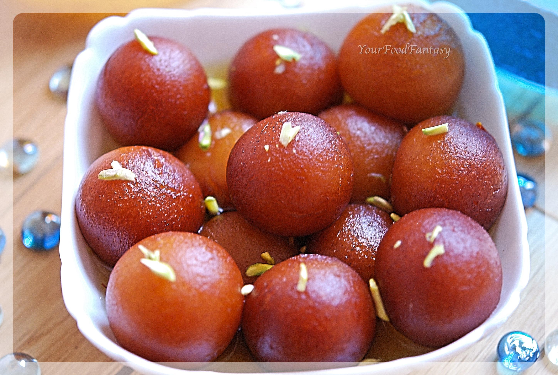 Gulab Jamun Recipe   Your Food Fantasy by Meenu Gupta