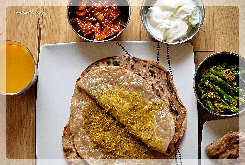 Mooli Paratha Recipe   YourFoodFantasy.com by Meenu Gupta