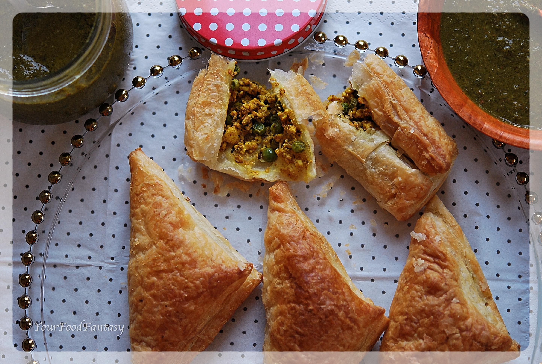 Paneer Puff Recipe   Your Food Fantasy by Meenu Gupta