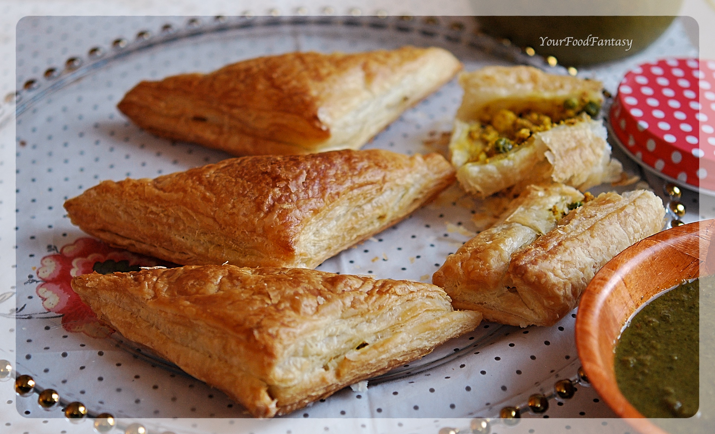Paneer Pastry Recipe   Your Food Fantasy by Meenu Gupta