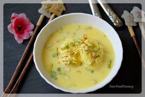 Restaurant Style Rasmalai | Your Food Fantasy