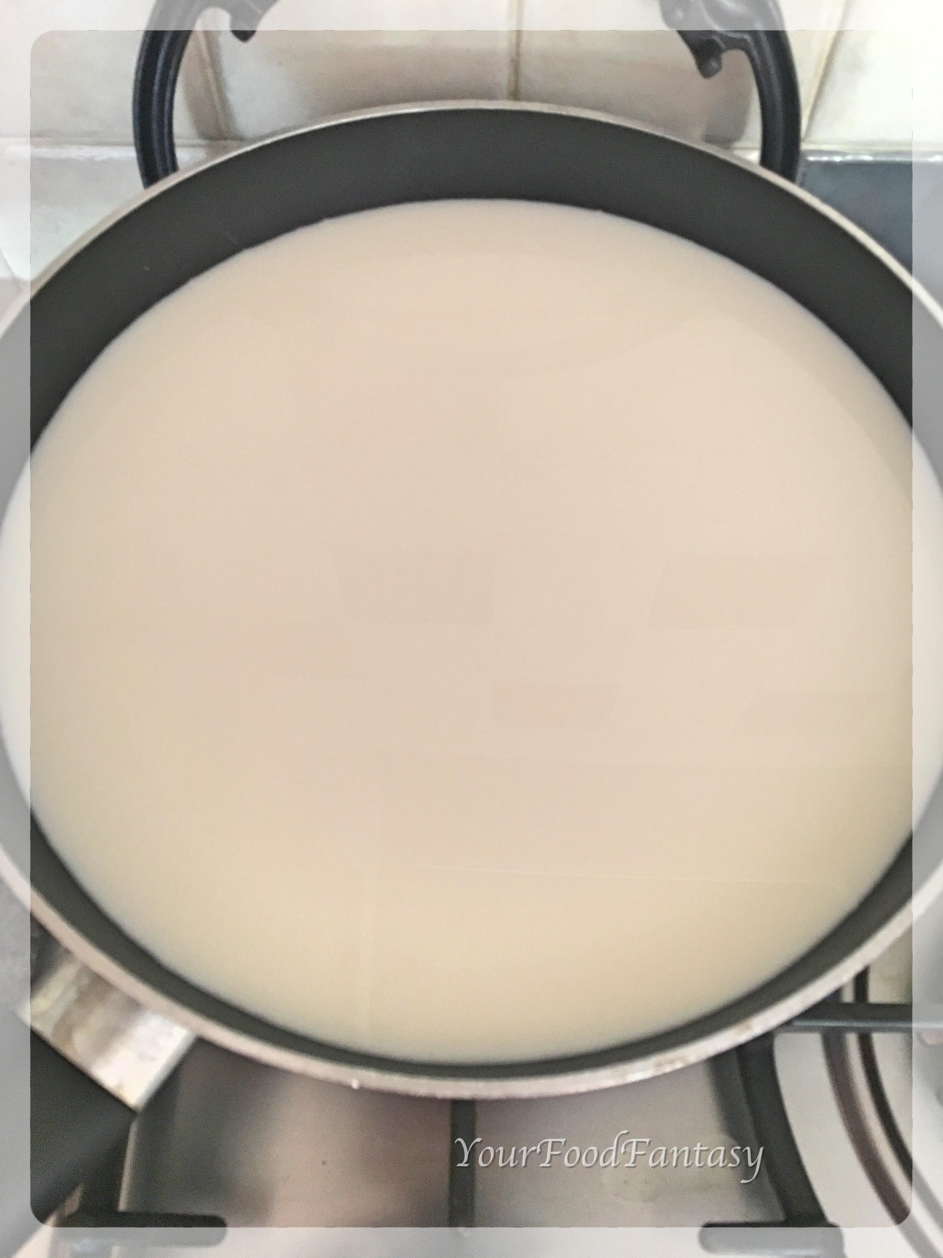 Milk for making Fresh Paneer | Your Food Fantasy